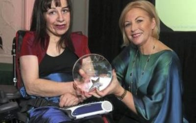 Congratulations to Roberta 'Bobbie' Connolly on her 'Leading Light' Award