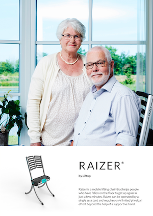 Liftup Raizer Brochure Cover - Private Use - O Neill Healthcare