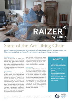 Liftup Raizer Product Information