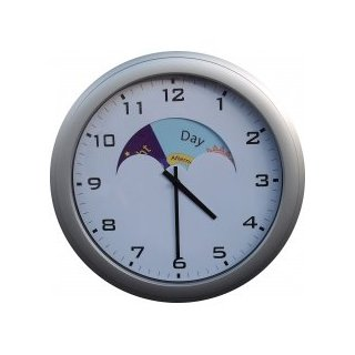 Analogue Dementia Care Day/Night Clock Product