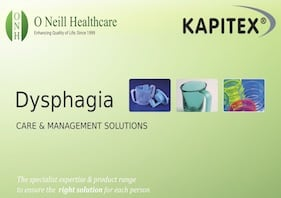 Dysphagia – Care and Management Solutions from Kapitex