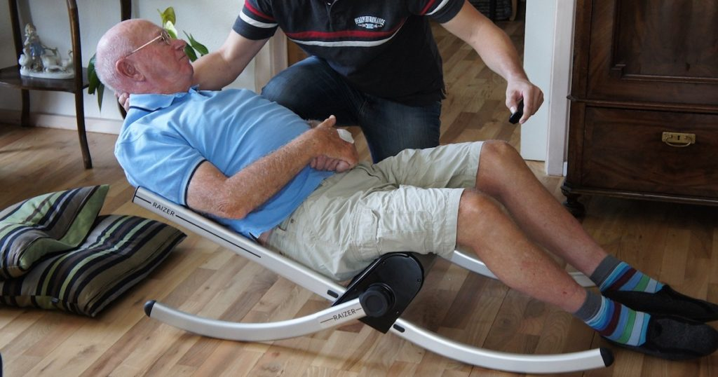 liftup Raizer emergency lifting chair - O Neill Healthcare
