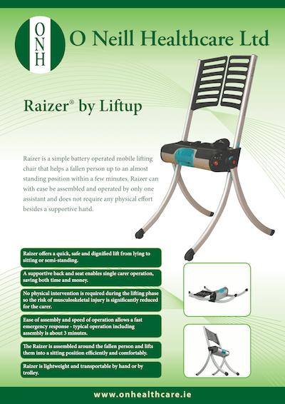 Liftup Raizer – Information Leaflet
