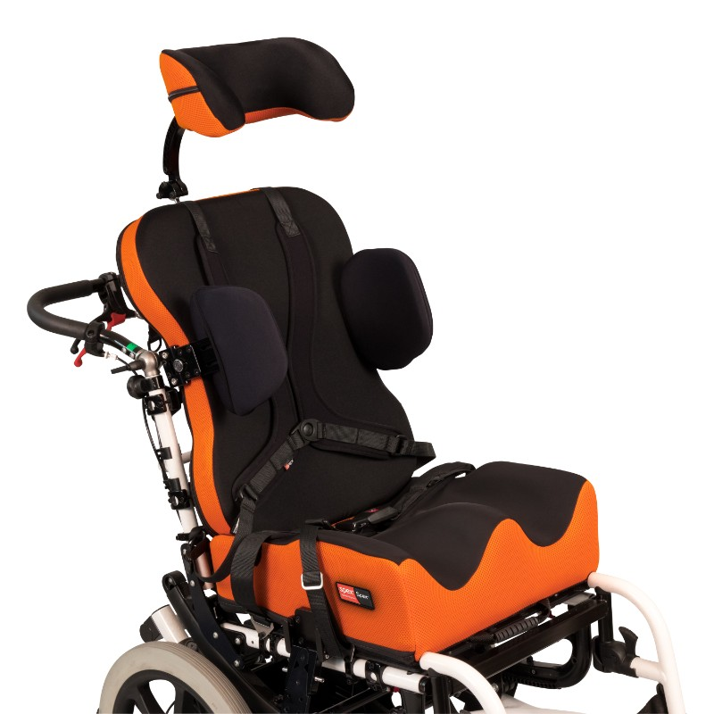 Spex Super High Contour Cushion On Wheelchair– O Neill Healthcare
