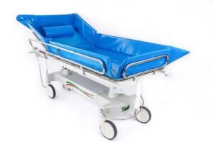 Timo Electric Shower Trolley - O Neill Healthcare