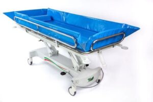 Timo Hydraulic Shower Trolley - O Niell Healthcare