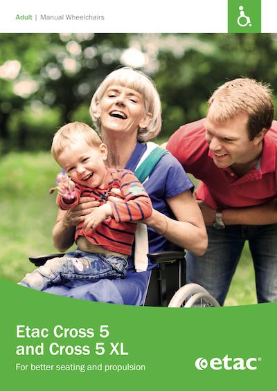 Etac Cross 5 Wheelchair Brochure
