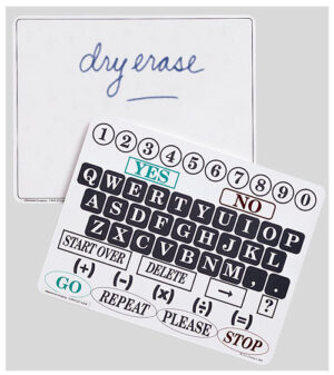 Dry Erase Communications Board