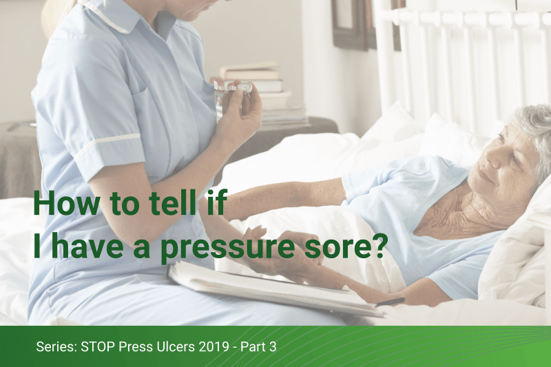 How to tell if I have a pressure sore
