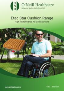 Star Cushion Range Cover - O Neill Healthcare