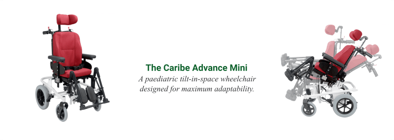 The Caribe Advance Mini Paediatric Wheelchair - O Neill Healthcare