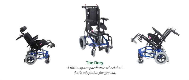 The Dory Paediatric Wheelchair - O Neill Healthcare