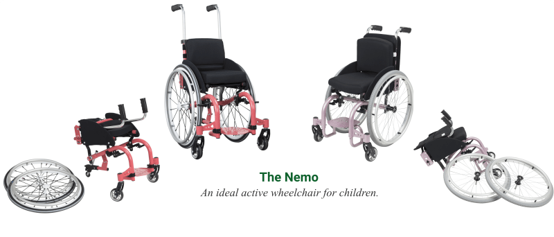 The Nemo Paediatric Wheelchair - O Neill Healthcare