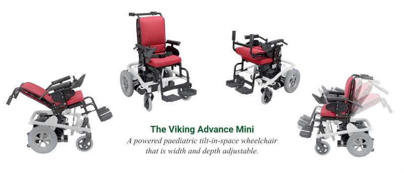 The Viking Advance Mini Paediatric Wheelchair - O Neill Healthcare