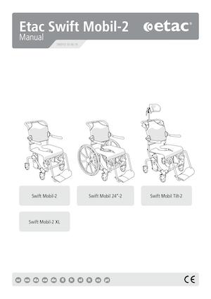 Etac Swift Mobile Tilt 2 Brochure Manual Cover - O Neill Healthcare