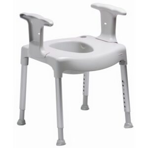 Etac Swift Freestanding toilet seat raiser - O Neill Healthcare