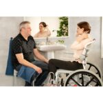 Etac Swift Mobil 24 2 Shower Chair and Commode - O Neill Healthcare