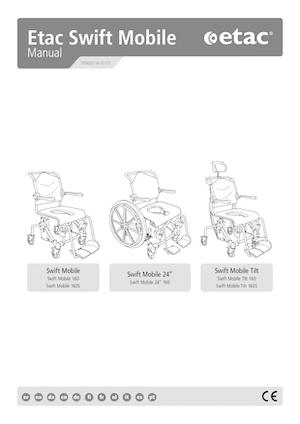 Etac Swift Mobile Manual Cover