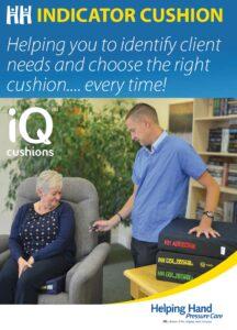 Helping Hand Indicator Cushion Leaflet
