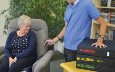 Pressure Care Cushion Assessments Made Easy: Helping Hand Indicator Cushion