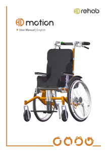 HD Motion Children's Wheelchair Cover - User Manual - O Neill Healthcare