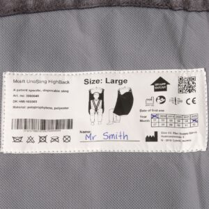 Label with user's name - O Neill Healthcare