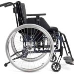 Etac Cross 5 Wheelchair From the Side