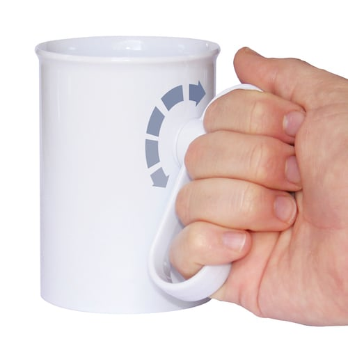 HandSteady Drinking Aid Cup with Rotatable Handle