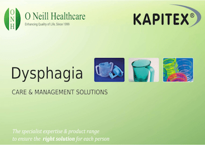Dysphagia Booklet – Care and Management Solutions from Kapitex