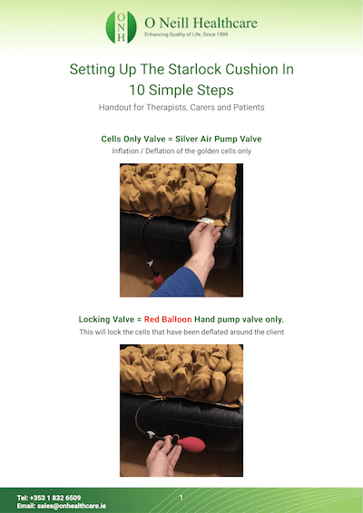 Setting Up The Starlock Cushion – 10 simple Steps Cover