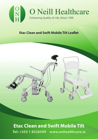 Star Cushion Therapist Information Leaflet Cover - O Neill Healthcare
