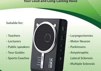 Voista Amplifier Information Leaflet