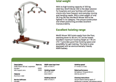 Molift Mover Hoists Booklet