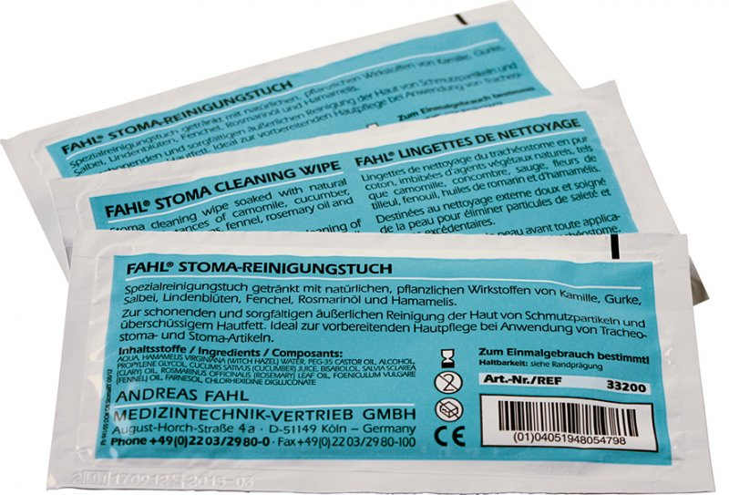 Optifahl Stoma Cleaning Wipes
