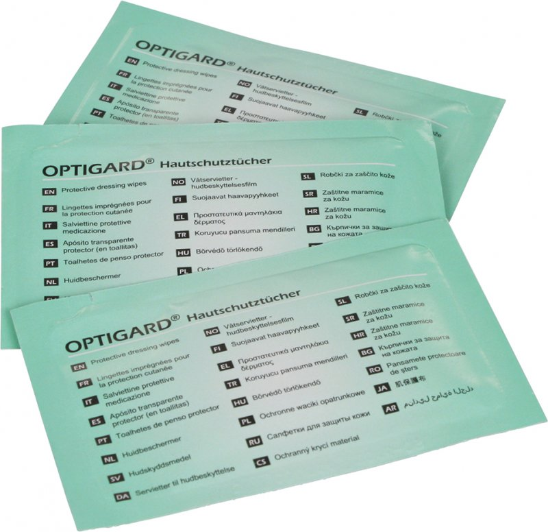 Optigard Protective Dressing Wipes