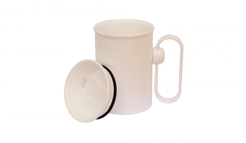 HandSteady Cup with a Rotatable Handle