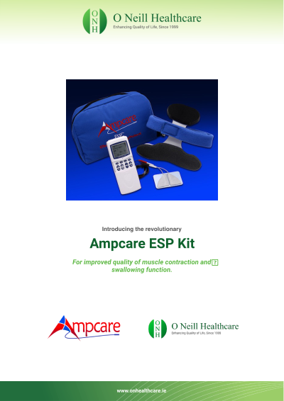 The Ampcare ESP Kit (Effective Swallowing Protocol)