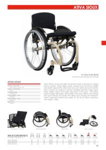 Ativa Sioux Active Wheelchair