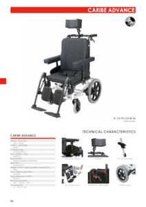 Caribe Advance Wheelchair