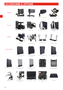 Celta Self-Propelling Wheelchair Accessories Cover