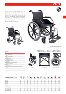 Celta Self-Propelling Wheelchair Cover
