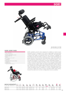 Dory Paediatric Wheelchair Cover