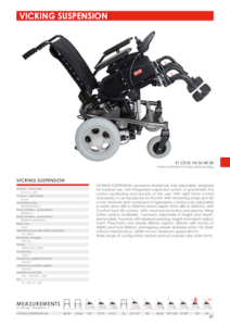 Vicking Suspension Powered Wheelchair